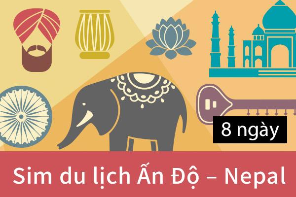 Sim du lịch Ấn Độ - Nepal  01459cc5b08