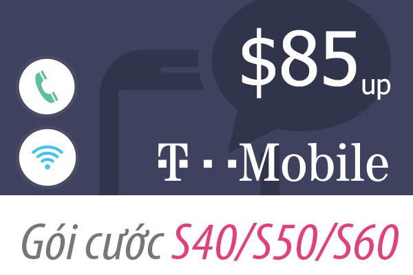 Sim Mỹ T-Mobile không giới hạn 4G